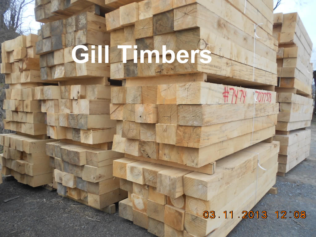 Timber and lumber export offers red oak white